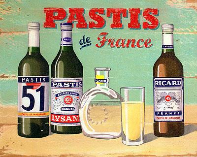 Пастис (pastis, pastaga) – питието на Прованс
