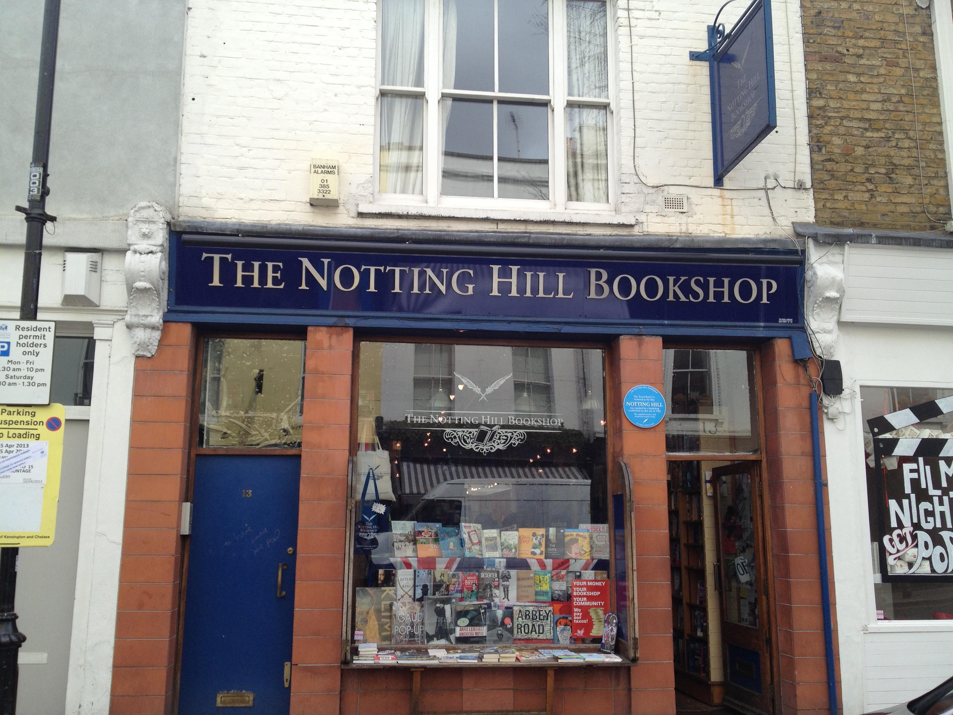Книжарница Нотинг хил