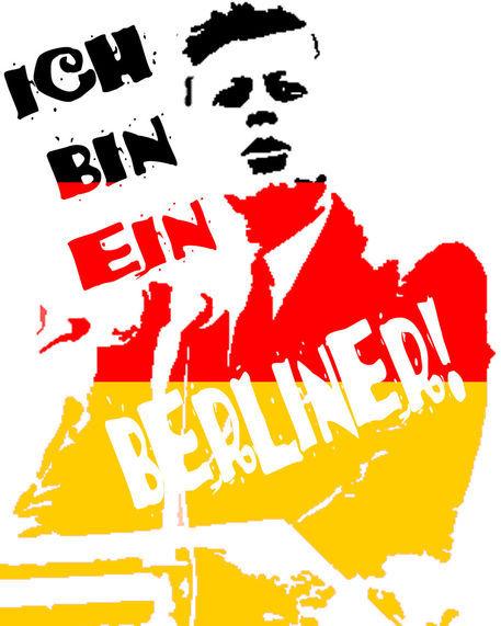 """""""Ich bin ein Berliner"""" –  мотото на свободния човек"""
