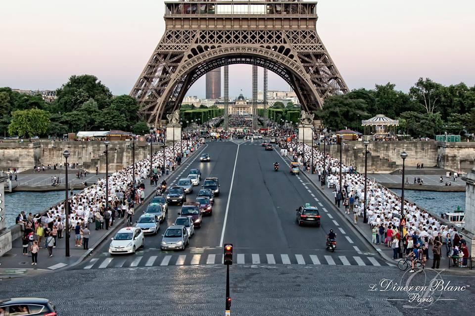 Вечеря в бяло в сърцето на Париж