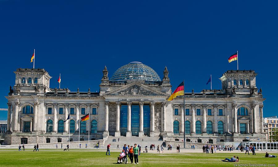 Райхстаг. Берлин, Германия
