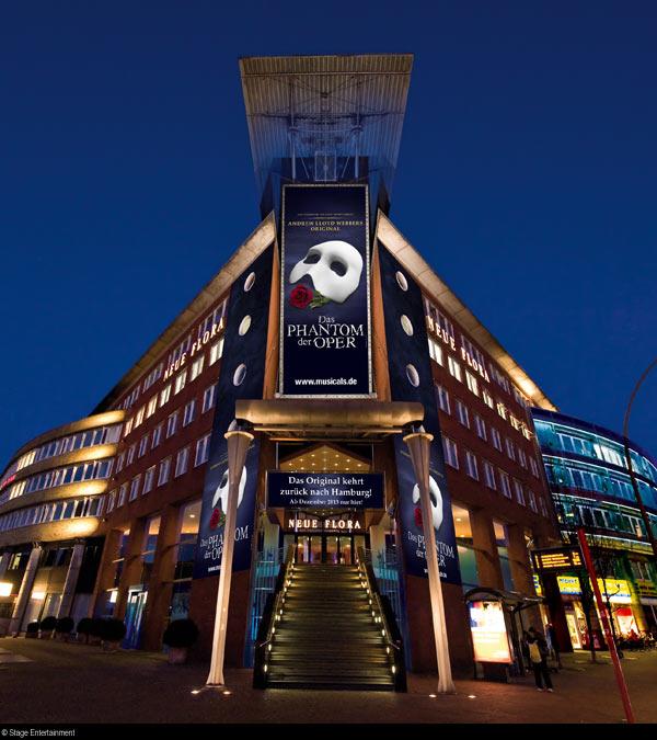 Театър Нойе Флора в Хамбург