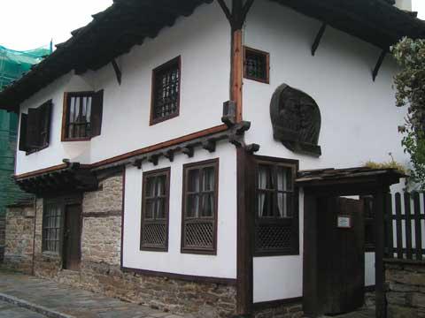 Родната къща на Пенчо Славейков в Трявна