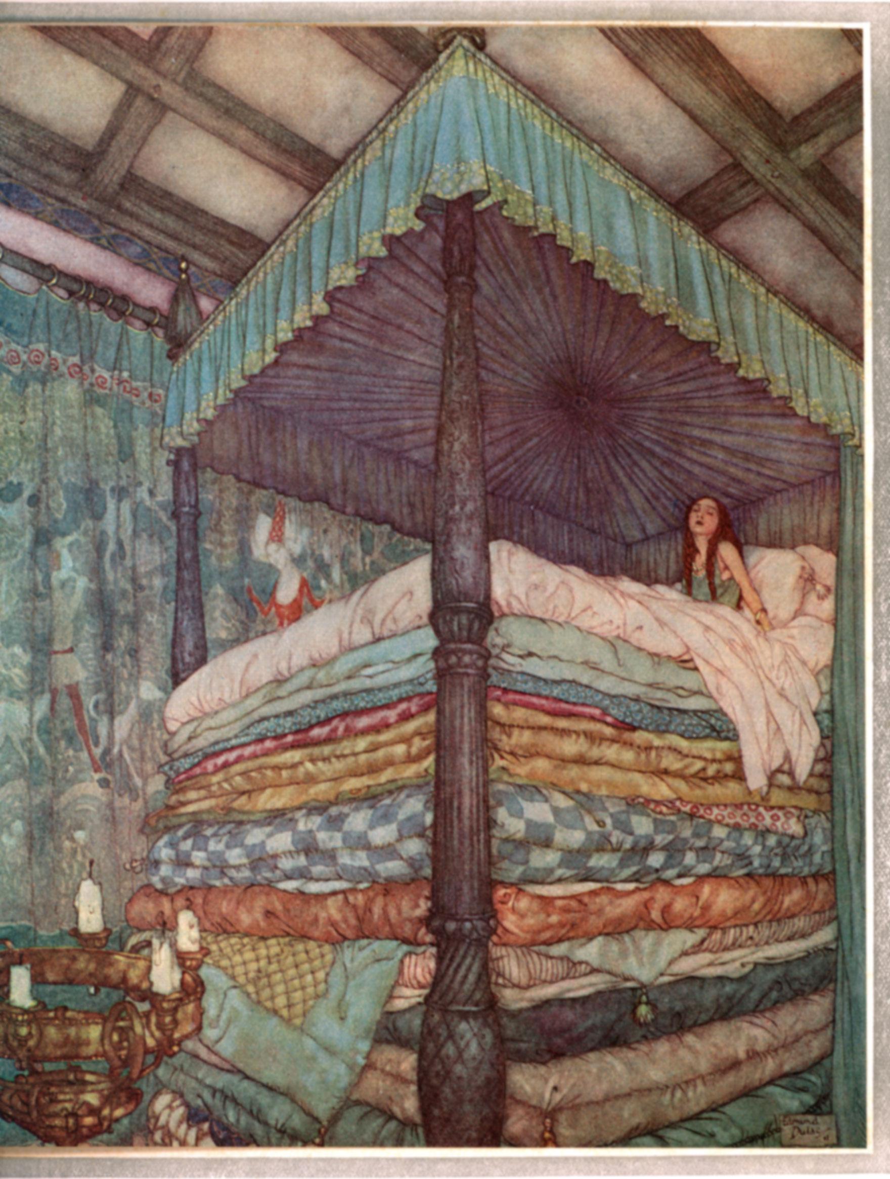 Оригинална илюстрация от приказката