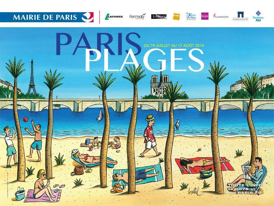 На плаж в Париж – защо не?!