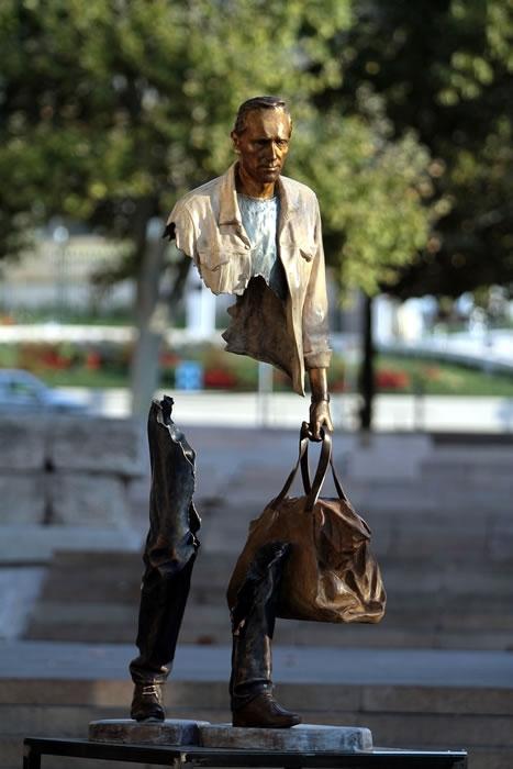 Най-впечатляващите съвременни скулптури на открито