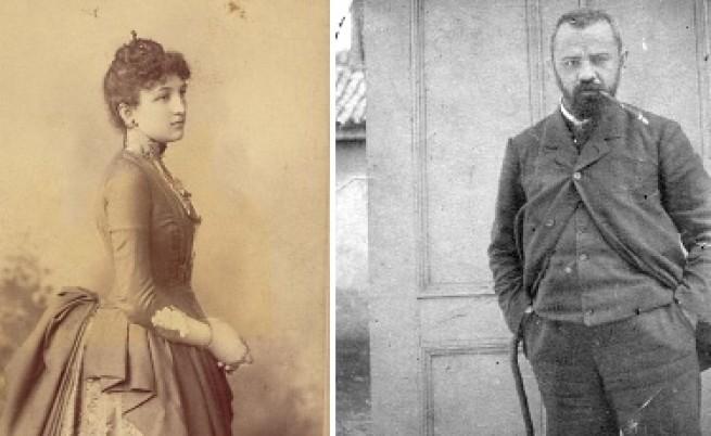 Мара Белчева и Пенчо Славейков