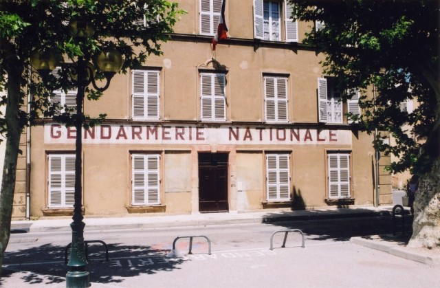 Saint-Tropez_Gendarmerie