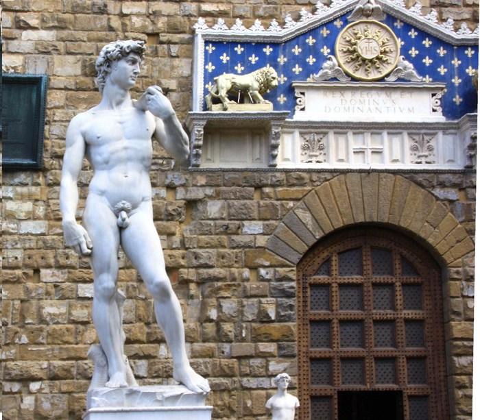 Давид на Микеланджело във Флоренция – идеал за мъжка красота