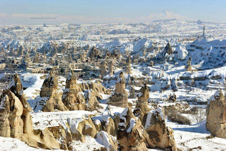 Cappadocia in winter