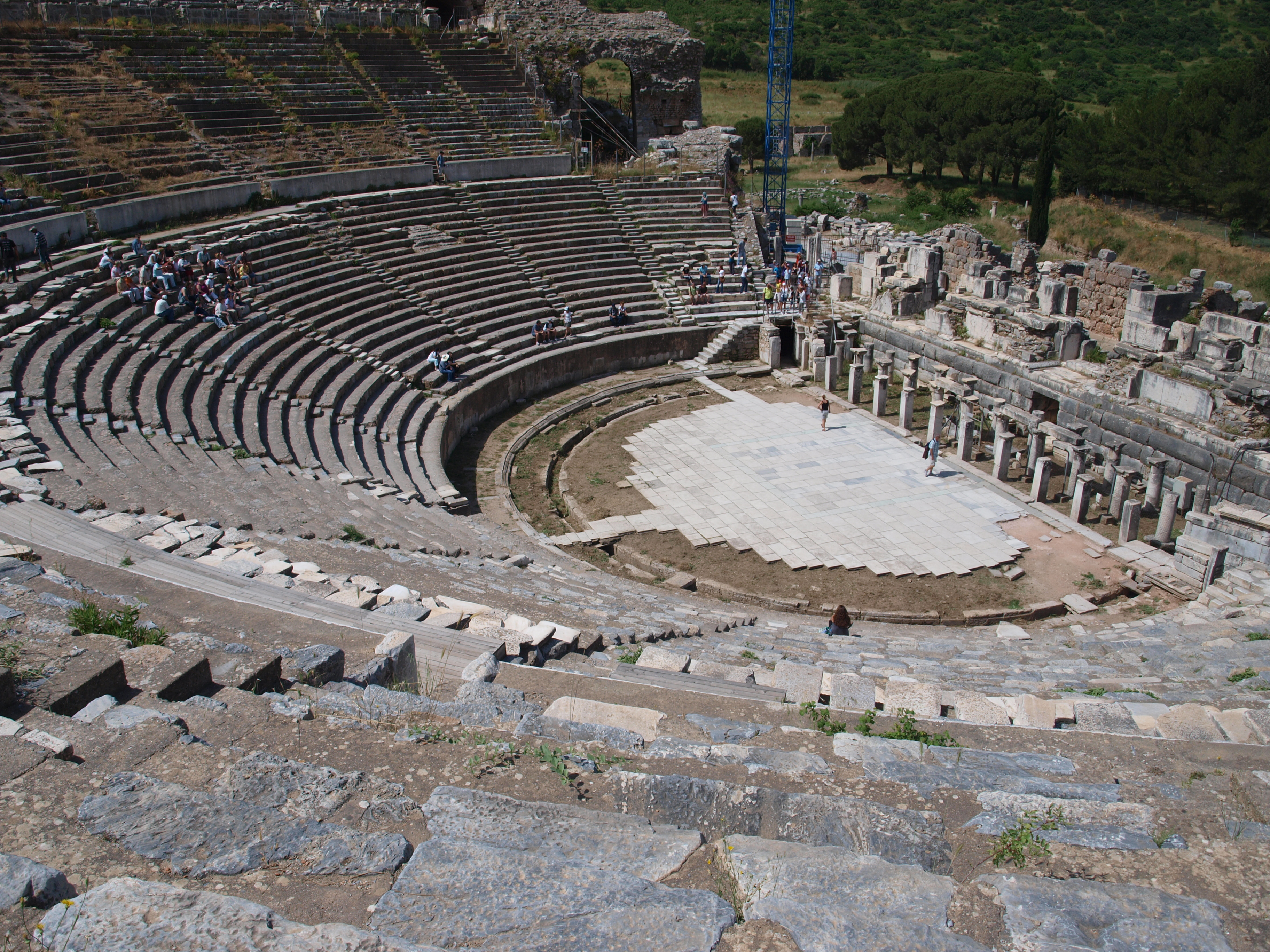 Ефес – пристанищният град, който не е на брега на морето