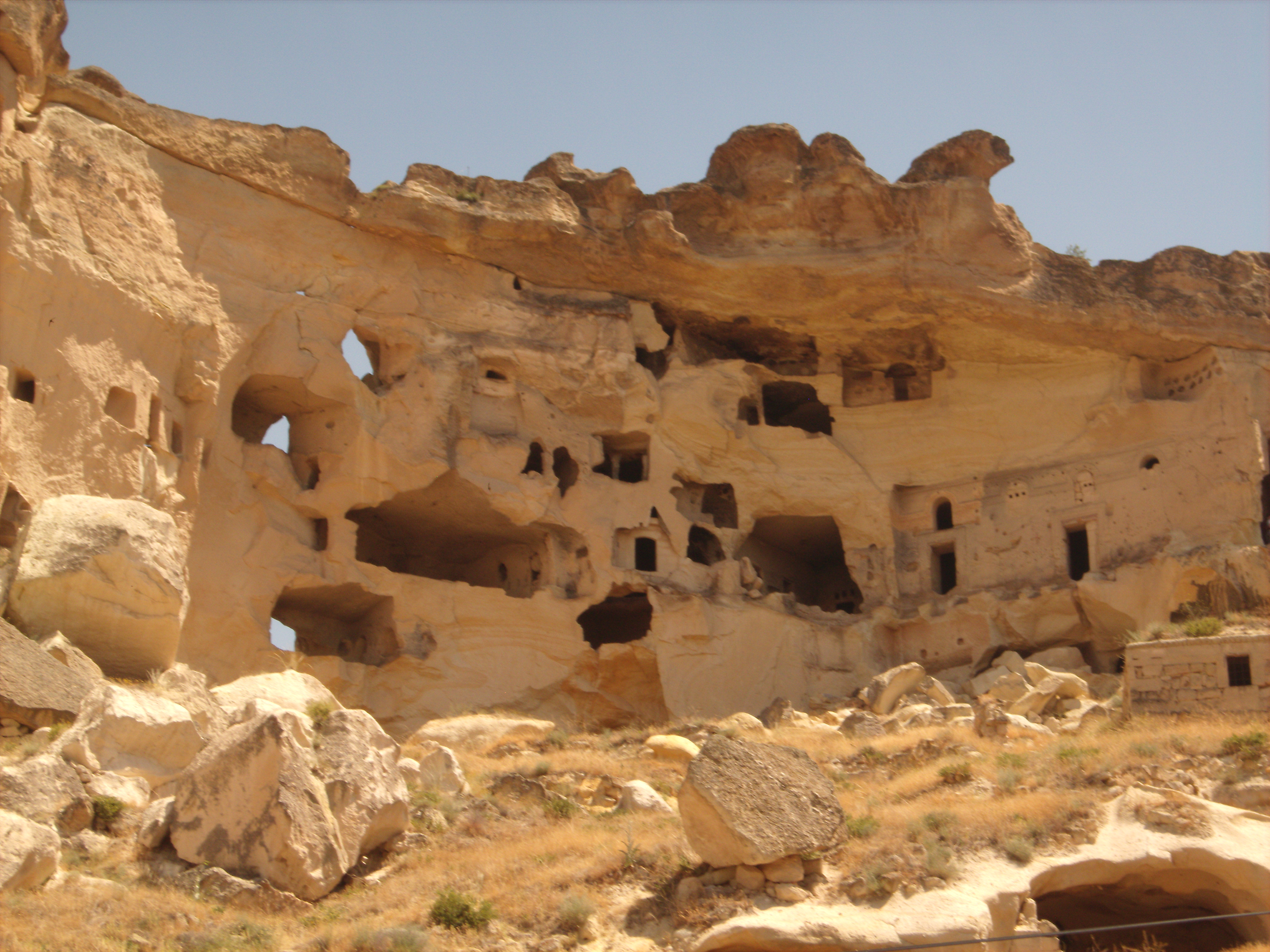 Rock dwellings