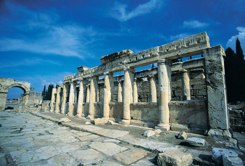 Ruins in Hierapolis