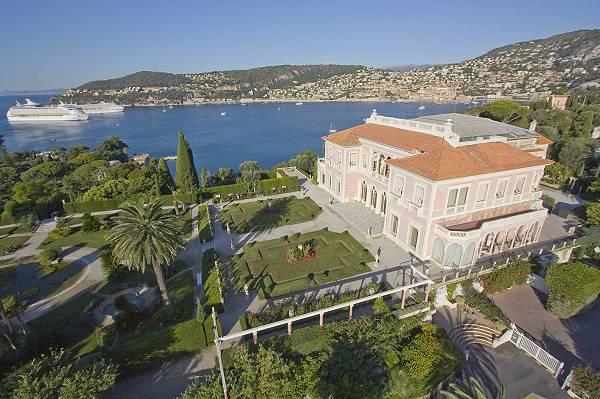 """Вила """"Ephrussi de Rothschild"""" – на гости в рая"""