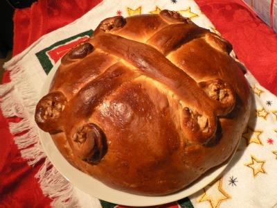Гръцкият коледен хляб