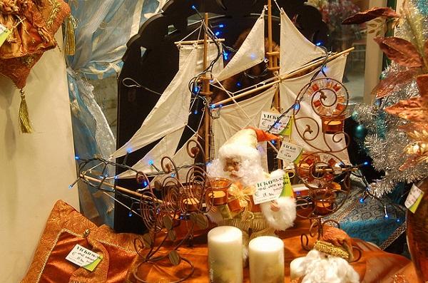 Коледна украса по гръцки