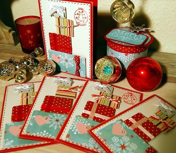 Картички с добри пожелания за Коледа