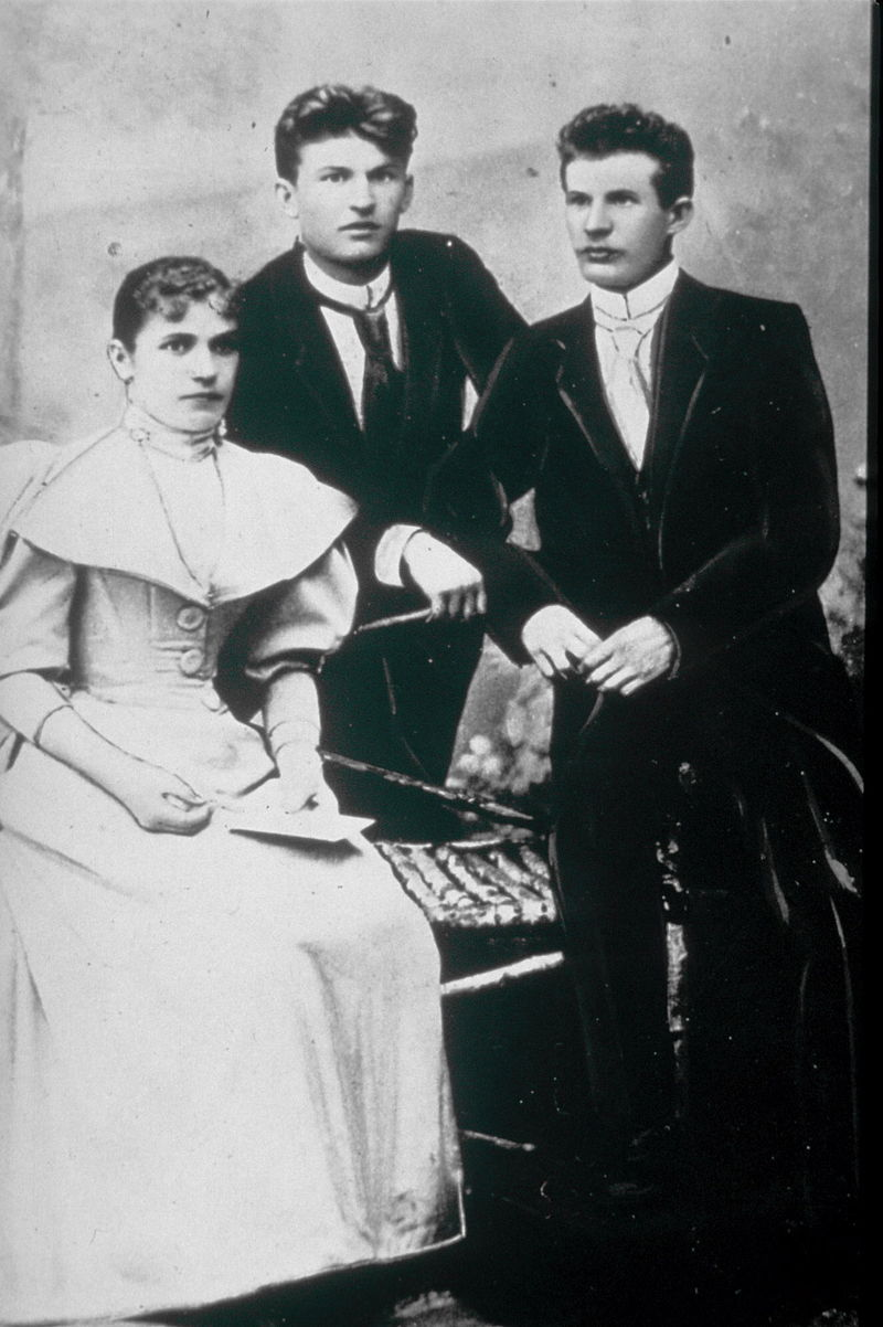 Томаш, Антонин и Анна Бата