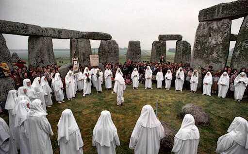 Пресъздаване на келтския празник Самейн