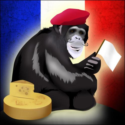 Cheese eating surrender monkeys