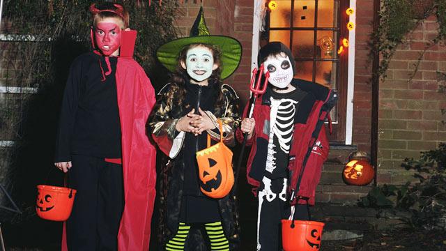 Halloween - най-популярният празник сред децата в Америка
