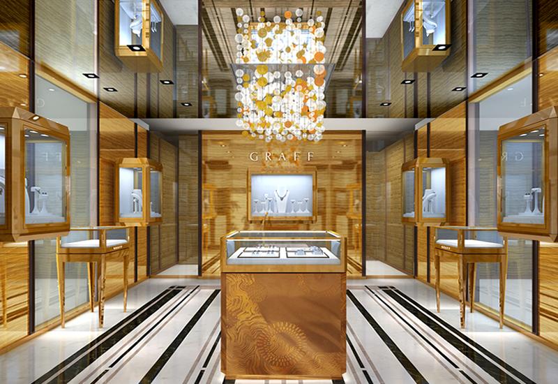 """Изложба на шлифовани диаманти от """"Графф""""."""