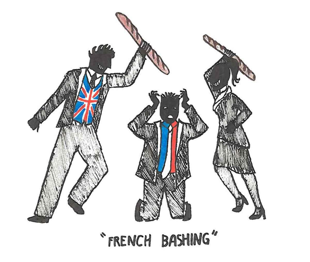 Защо англосаксонците обожават да се заяждат с французите