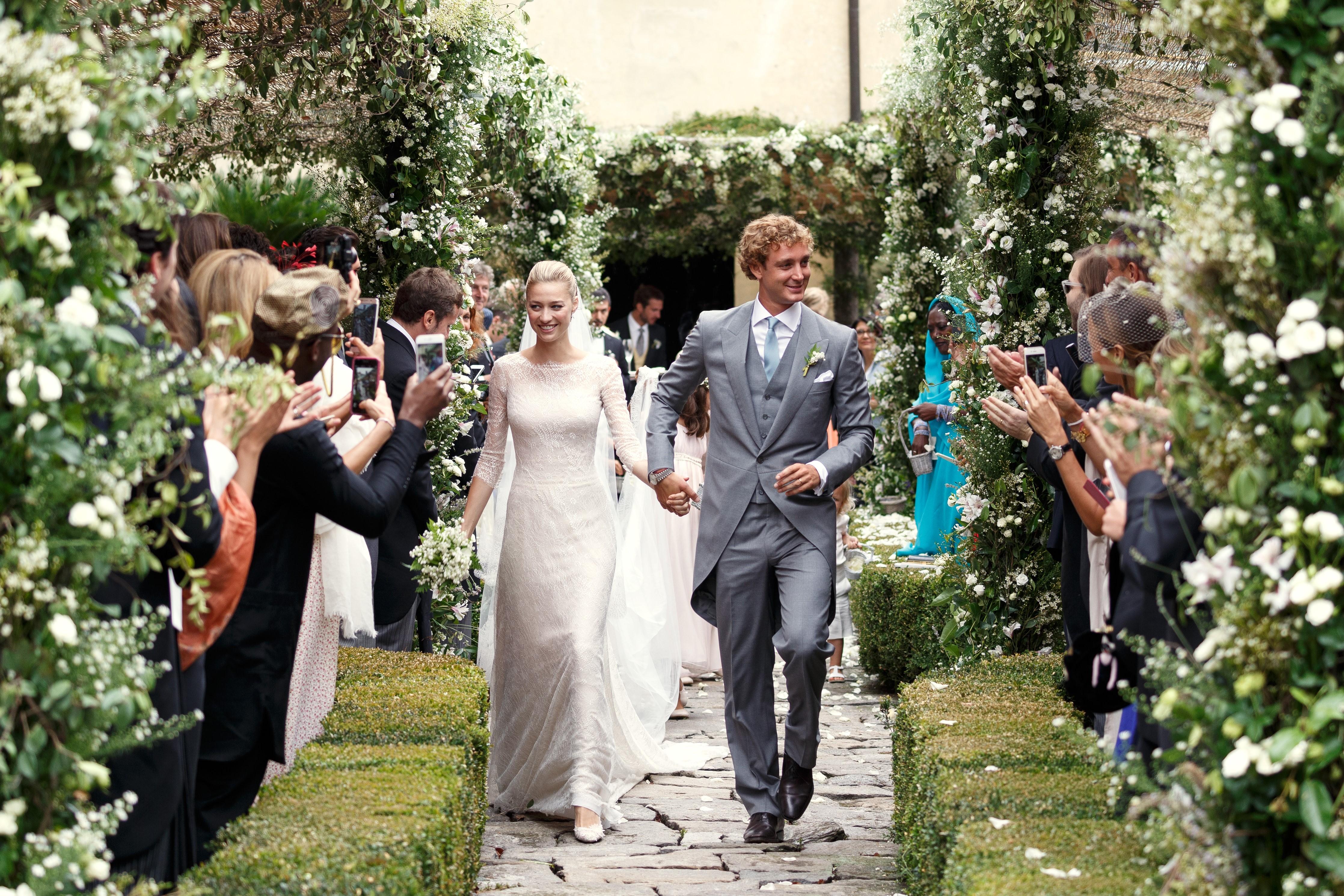 Сватбата на Пиер Казираги и Беатрис Боромео