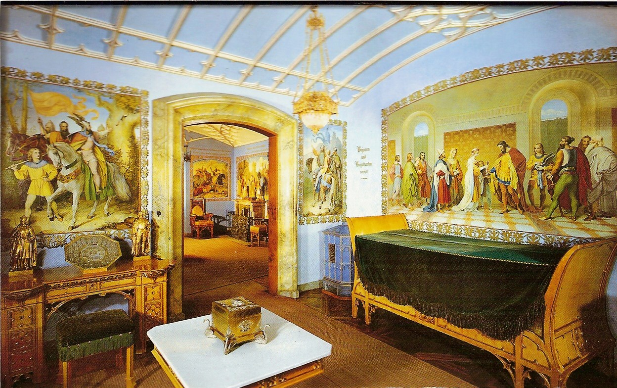 Authari room, Hohenschwangau Castle, Schwangau