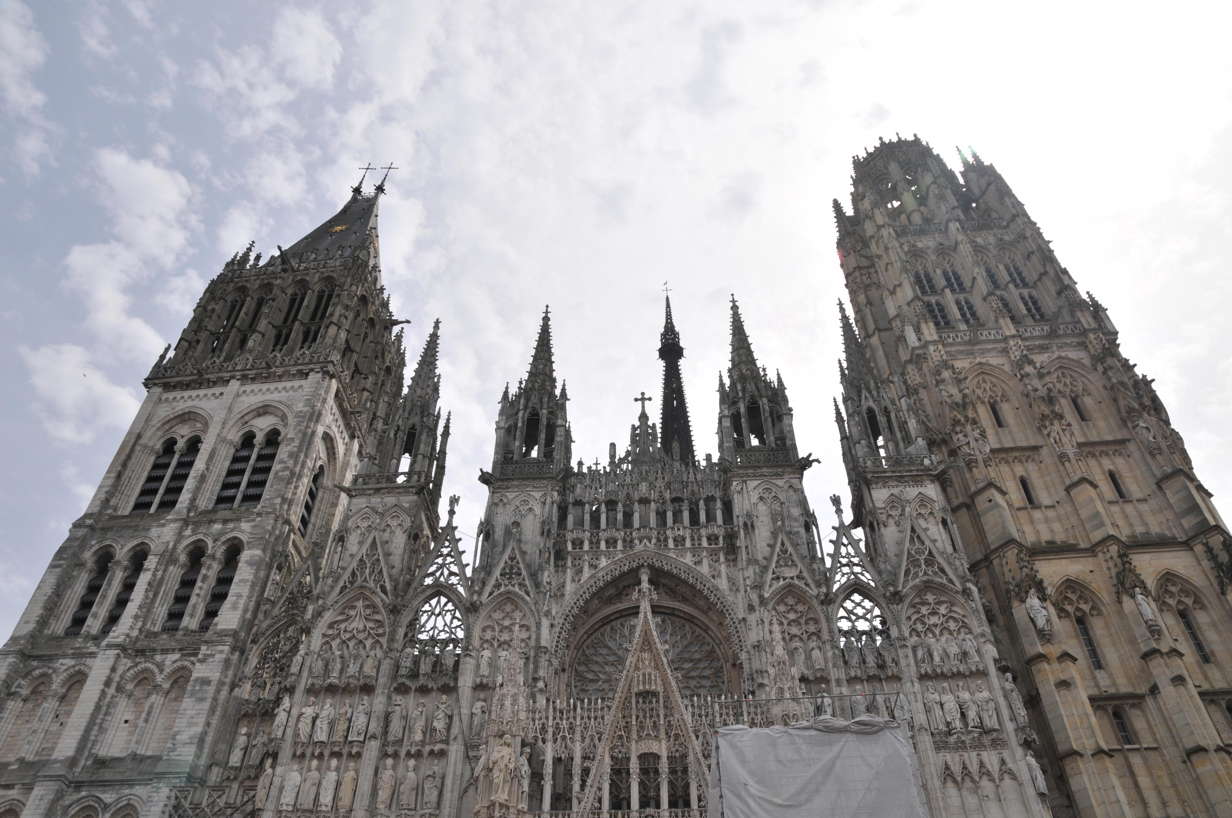 Катедралата в Руан