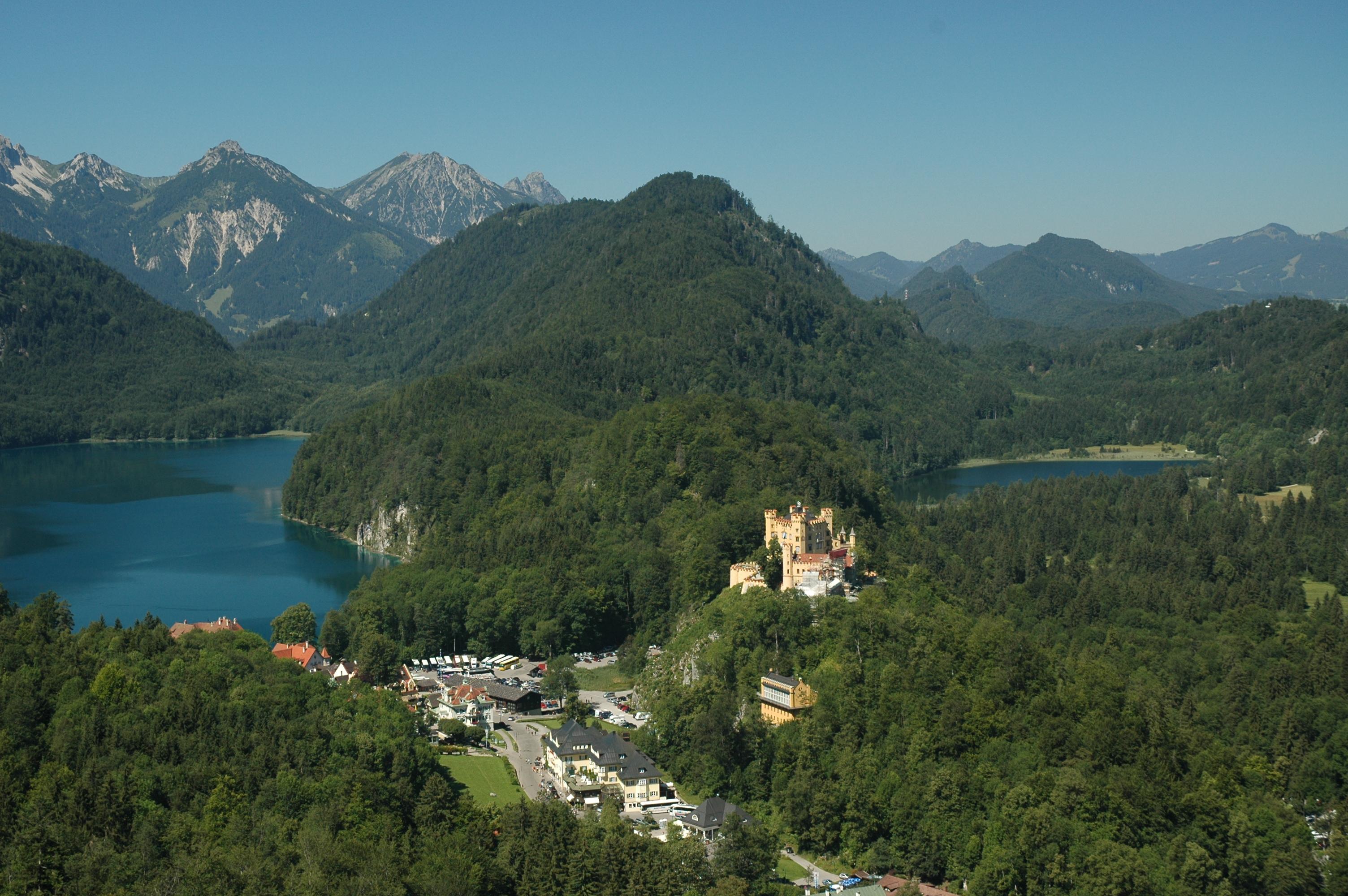 Хьоеншвангау и Нойшванщайн – два прекрасни замъка в Алпите