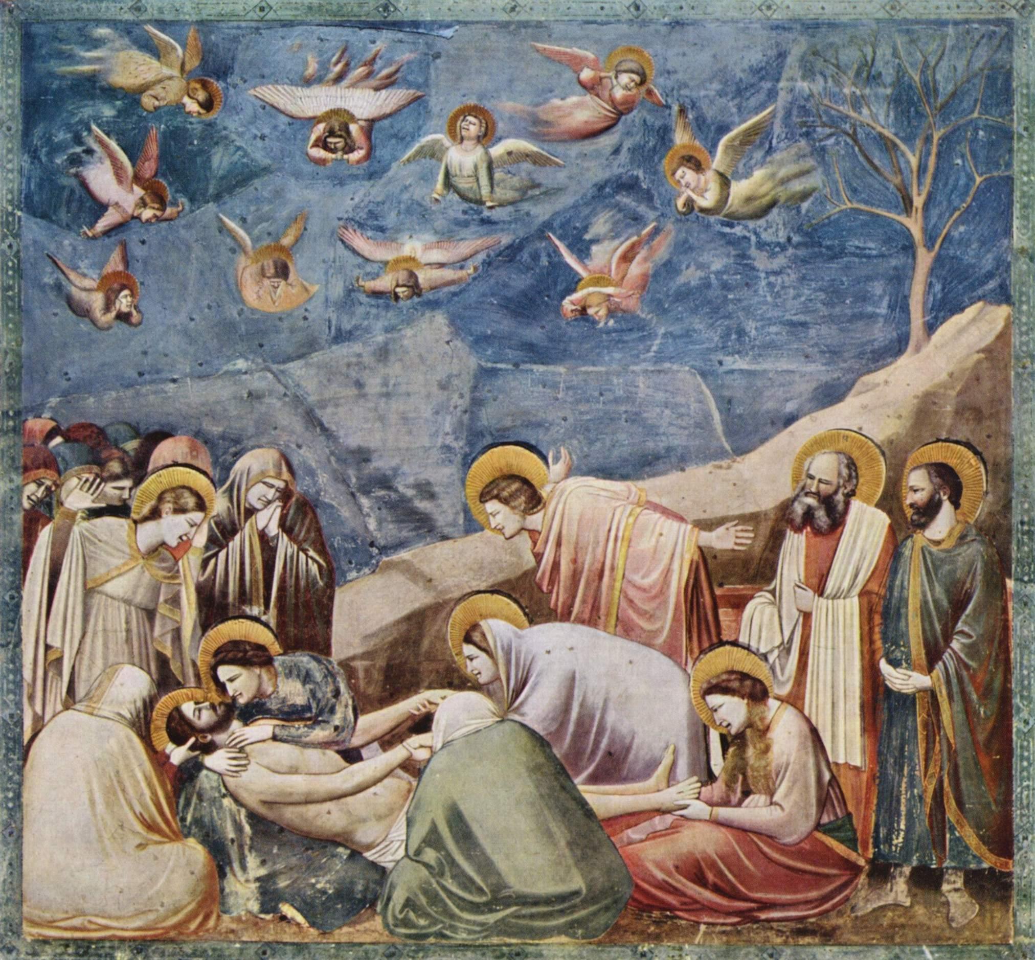Oplakvane na Isus Scroveni