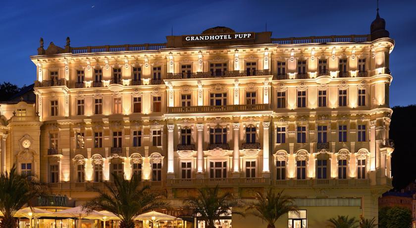 Гранд Хотел Пуп – перлата на Карлови Вари