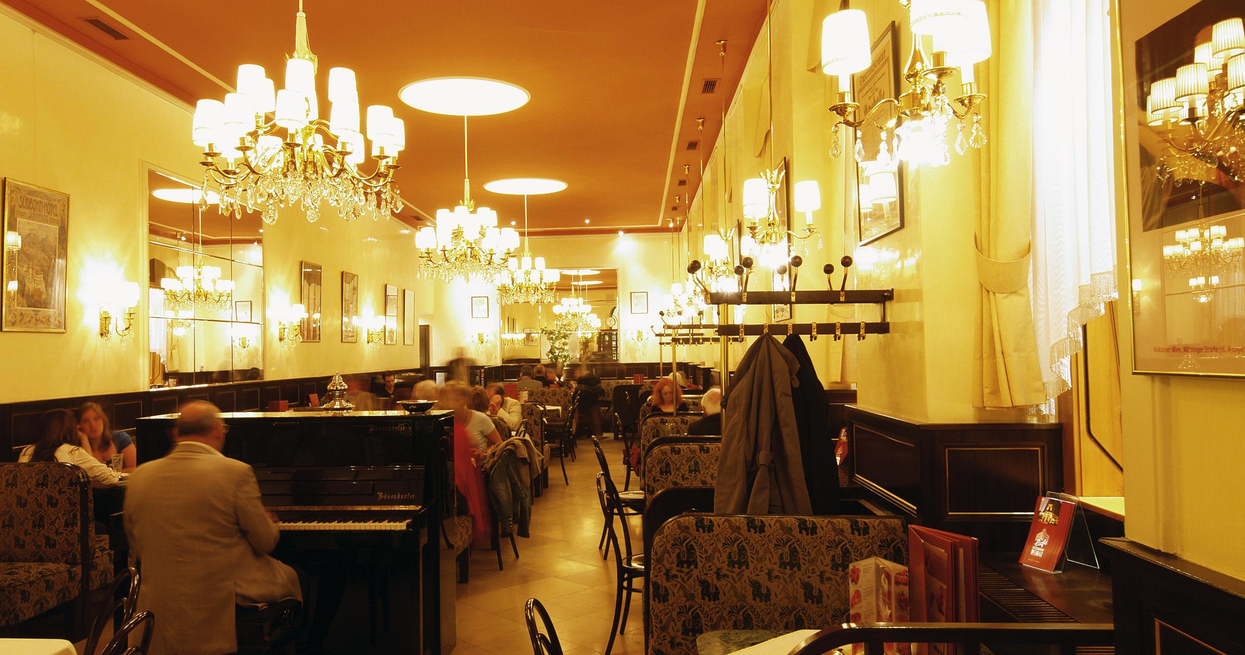 Кафе и комфорт за туристите във Виена
