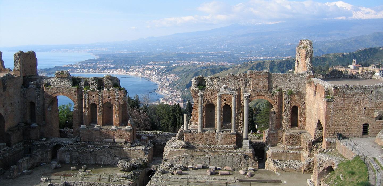 Античният театър в Таормина