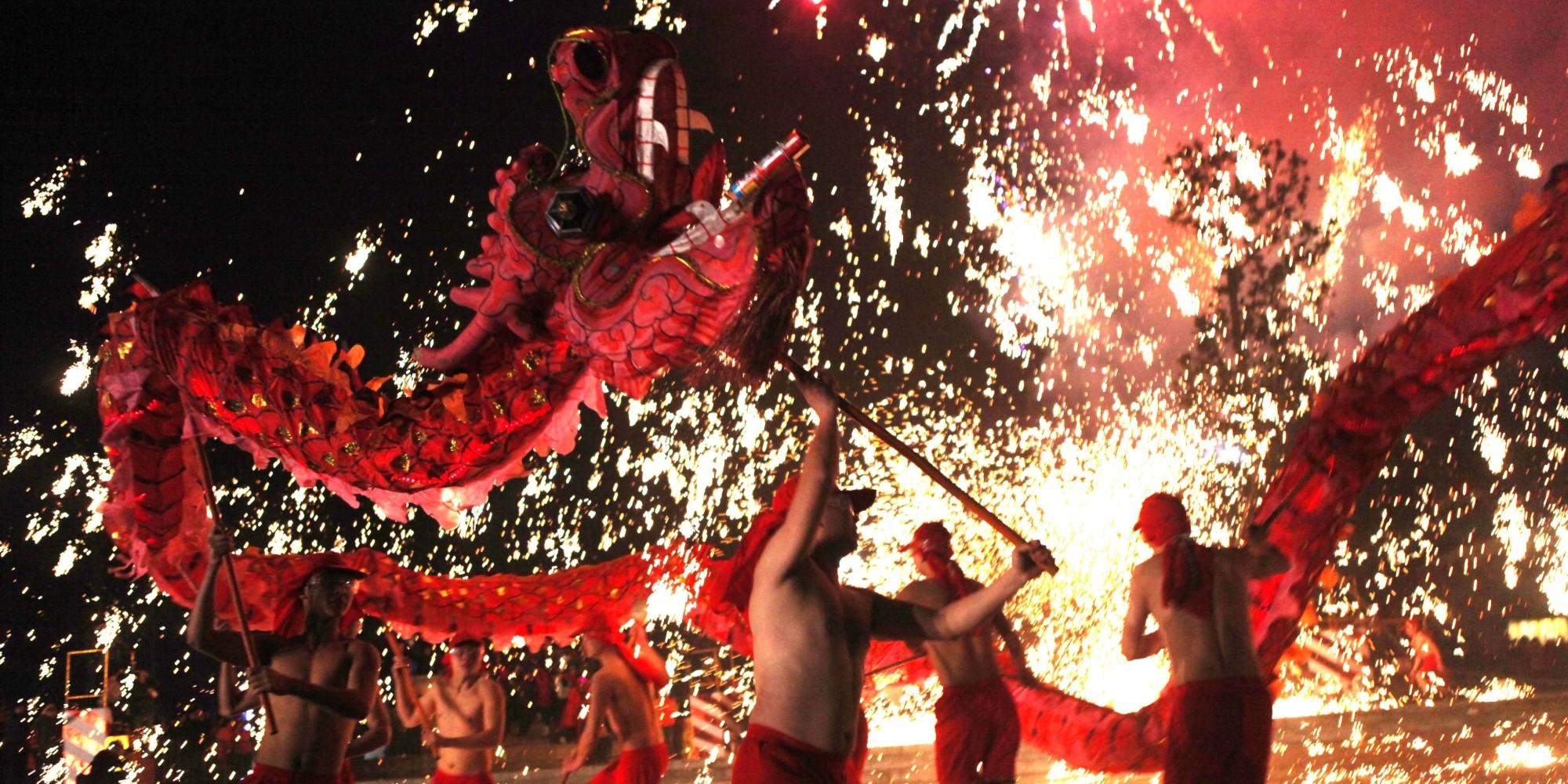 Китайската Нова година в сърцето на Лондон 7