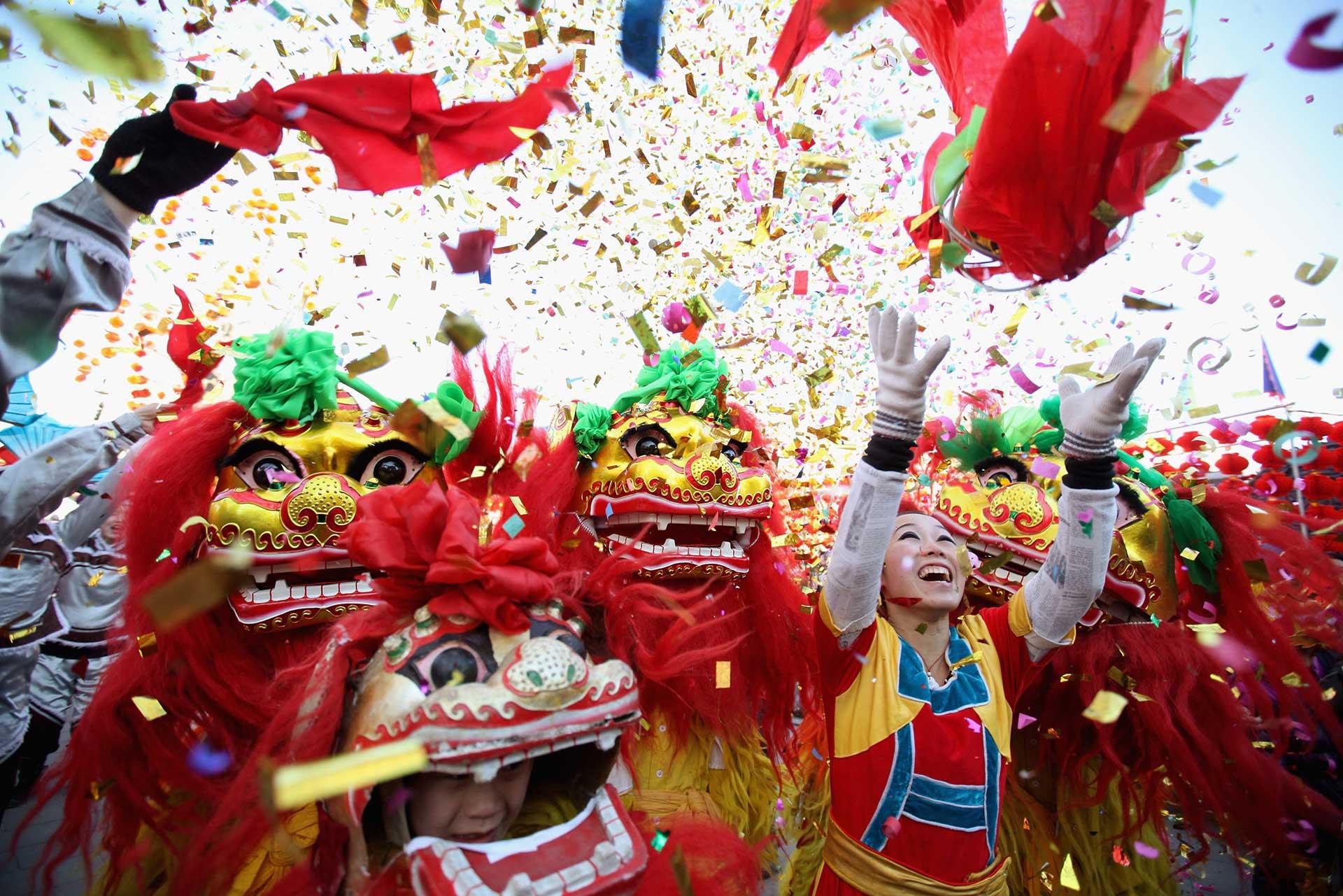 Китайската Нова година в сърцето на Лондон 2а
