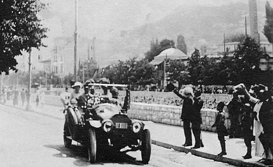 Колата, в която са убити престолонаследникът Франц-Фердинанд и съпругата му в Сараево