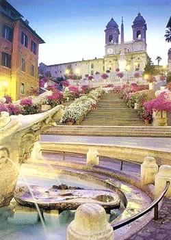 Площад Испания – пътят към Вечния град