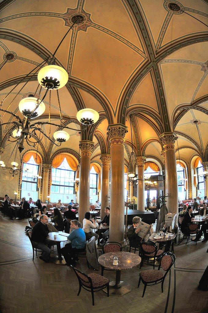 Wien, Cafe Central