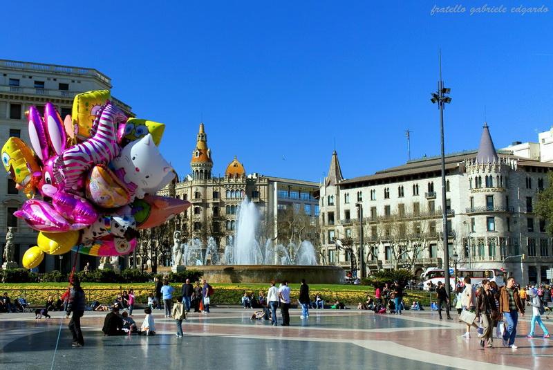 """Площад """"Каталуня"""" и улица""""Рамбла"""" – истинското сърце на Барселона 1"""
