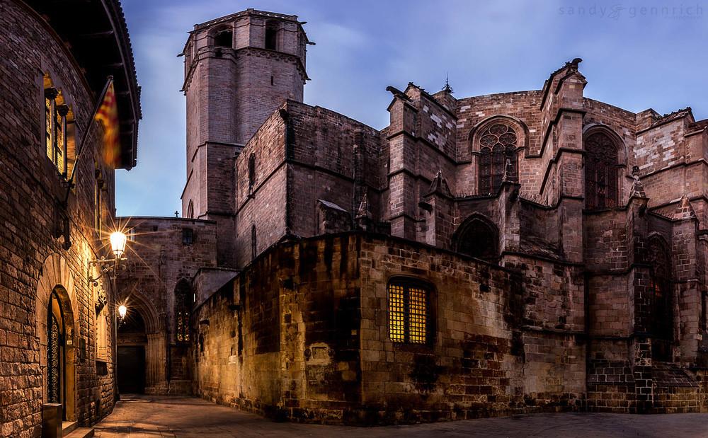 Барио Готик - старият квартал на Барселона 1