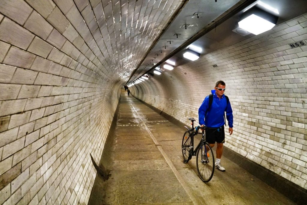 Пешеходният тунел Гринуич - под Темза, та чак до Шотландия - 8