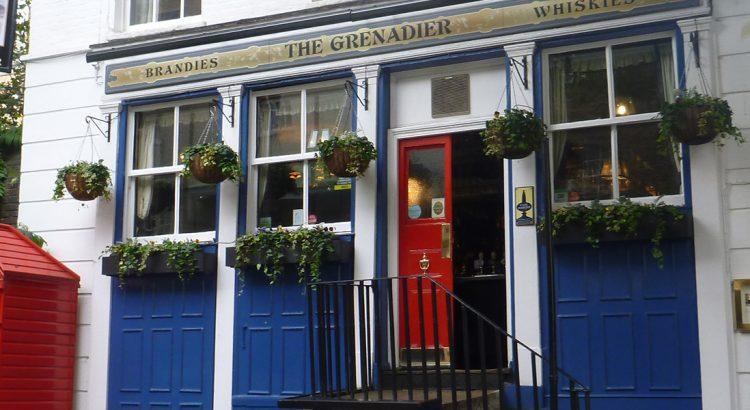 Гренадир пъб в Лондон – уютен и приветлив, когато го няма призрака