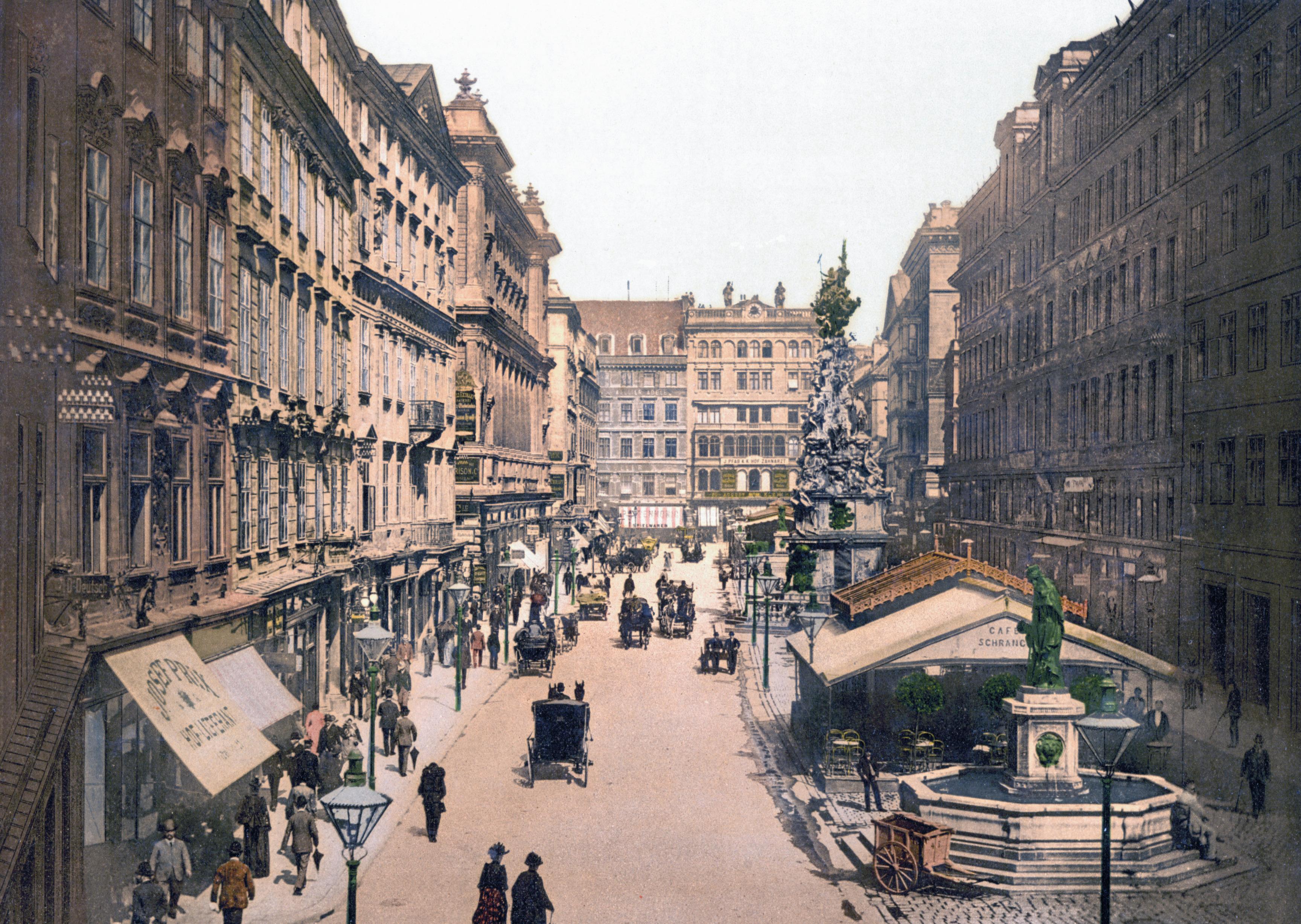 Улица Балгасе – старата Виена - 1