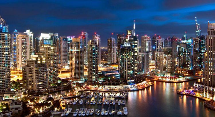 Модерна слънчева електроцентрала в Дубай