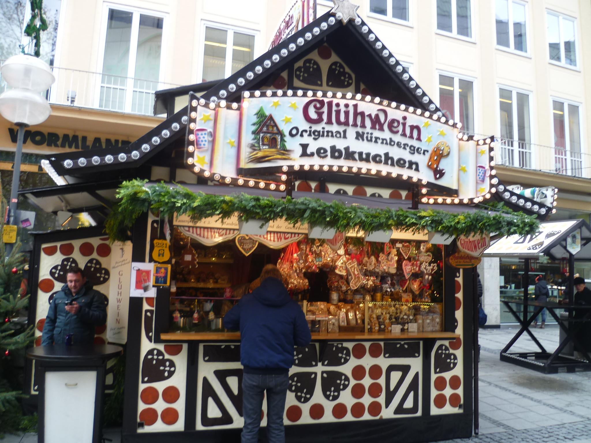 Коледните базари в Мюнхен – магия от вино и канела 1