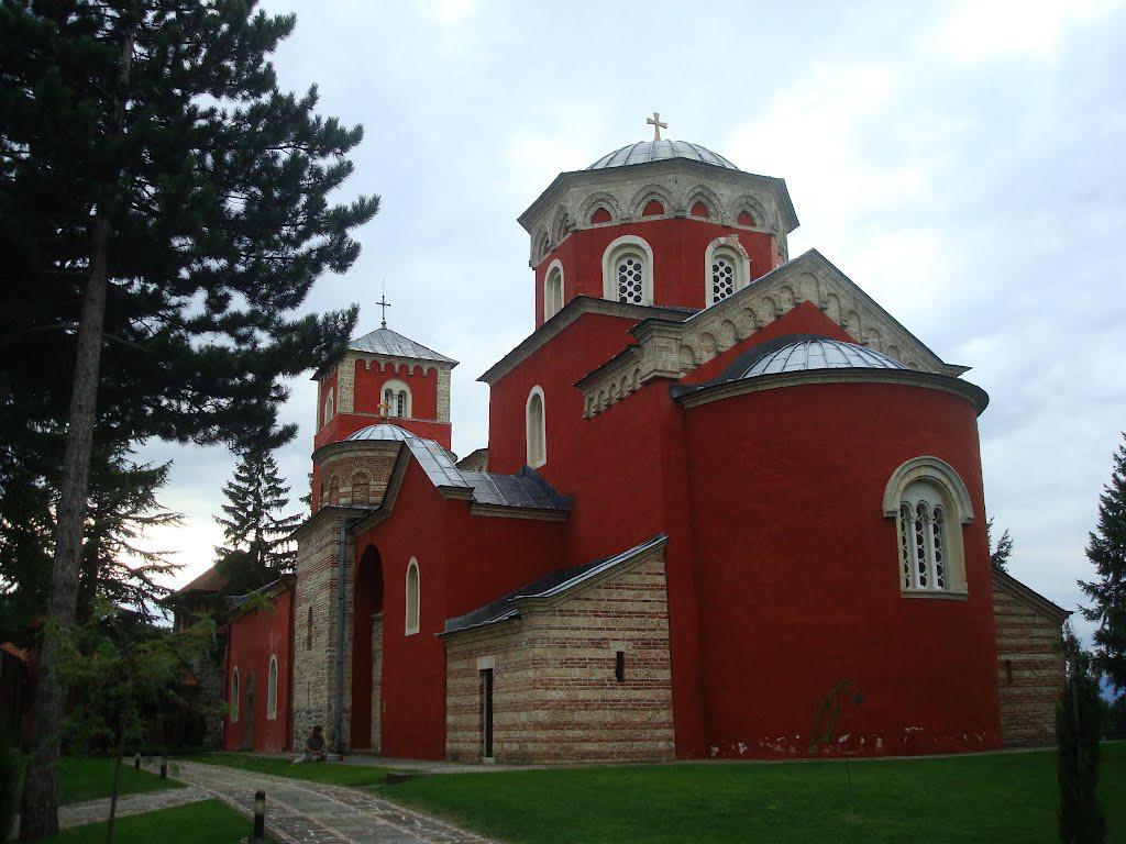 Манастирът Жича