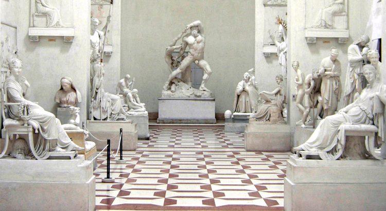 Антонио Канова и неговите живи мраморни скулптори