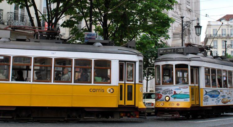Трамваите – един от символите на Лисабон